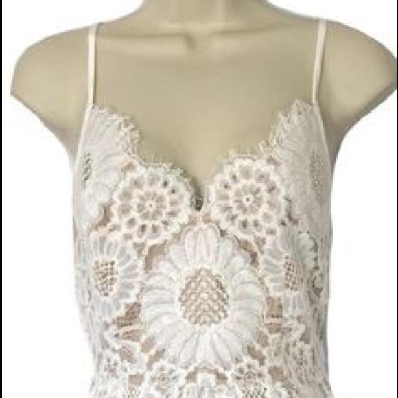 Trina Turk Dresses & Skirts - Trina Turk Alcott Ivory Lace Spaghetti Strap